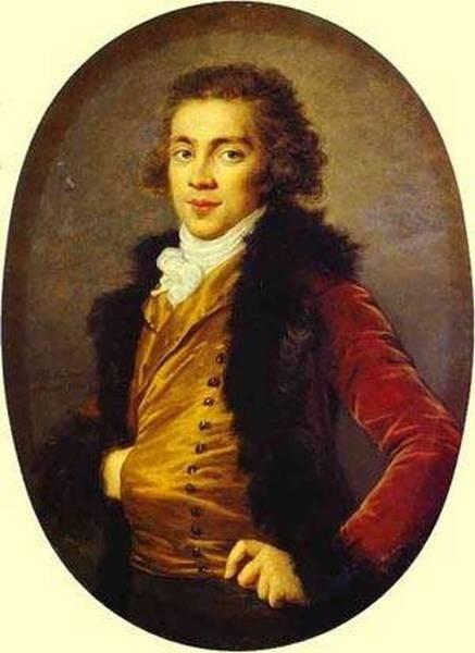Portrait of baron grigory alexandrovich stroganoff 1770 1857 1793 xx the hermitage st petersburg russia